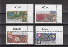 TIMBRE STAMP  4 ALLEMAGNE BERLIN Y&T#704-07 ART FLEUR NEUF**/MNH-MINT 1985 ~A65