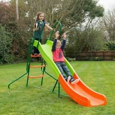 NEW!!! Children's Garden SLIDE 8ft Long Wavy Slide Large Outdoor Fun Kids Play