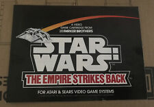 Parker Brothers Star Wars Empire Strikes Back Video Game instructions Atari