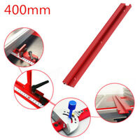 Aluminium Alloy 400mm 45 Type T-Slot T-Track Miter Track Woodworking Tool Red