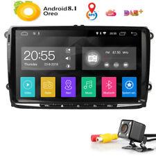 "2GB:RAM 9"" Android8.1 No-DVD Car Radio GPS Sat Nav for VW Golf MK5 MK6 PASSAT B6"
