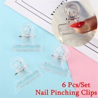 Rusian C Curve DIY Nail Extension Manicure Tool Nail Pinching Clips Pinchers