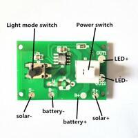 Solar String Light Lamp Board Control Sensor Controller Switch Module Component