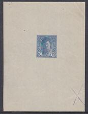 Newspaper stamp Die Proof Signed Wallner