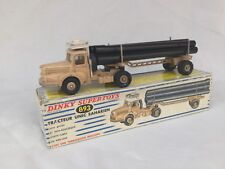 Dinky Toys Supertoys no. 893 Tracteur Unic Saharien Truck with Pipe Carrier OVP
