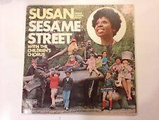 Susan Sings Songs From Sesame Street EX/VG+ 1970 vinyl lp
