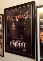 Boardwalk Empire - Aussie One Sheet Original Poster - Framed
