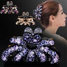 Accessori per capelli con pin clip per capelli con strass eleganti da donna