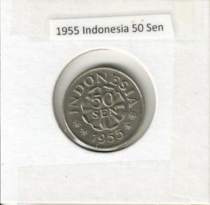 1955 Indonesia 50 Sen