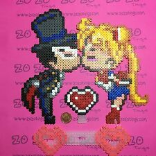Sailor MOON pixel wedding cake topper
