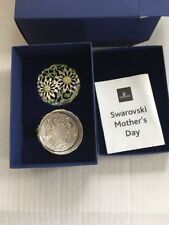 Swarovski Mother's Day Jewelry Box With Daisy New In Box Mothers