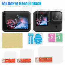 For GoPro Hero 9 Tempered Glass Screen Protector Lens Film Camera Accessories