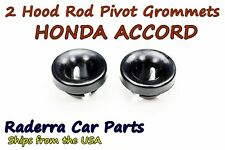 2 ( Two ) Honda ACCORD Hood Prop Rod Pivot Grommet 1990-2007