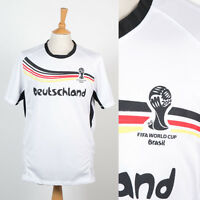 GERMANY DEUTSCHLAND 2014 WORLD CUP OFFICIAL FAN T-SHIRT FOOTBALL JERSEY SHIRT