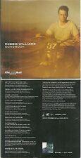 CD - ROBBIE WILLIAMS BEST OF ROBBIE WILLIAMS / ANGELS, COME UNDONE, FEEL ROCK DJ
