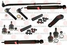 Front Lower Upper Ball Joint Tie Rods Pitman Arm Shocks For Ram 2500 4WD 03-08