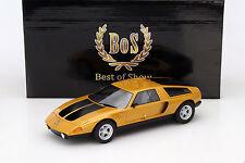 MERCEDES-BENZ c111-ii année-modèle 1970 Orange Metallic/Mat Noir 1:18 Bos-Model