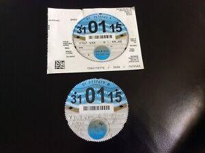 Car Tax Discs BMW