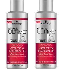 Lot of 2 Schwarzkopf Ultime Diamond Color & Radiance Shine Boost Tonic 3.4 oz x2