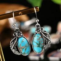 de boucles d'oreilles gemstone la pierre naturelle eardrop hook oreille étalon