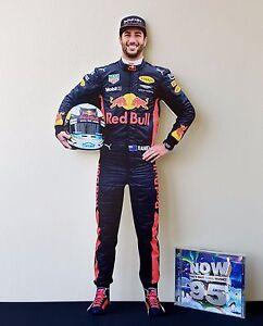 Daniel Ricciardo Display Stand Standee Figure Formula One F1 GP