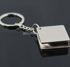 Mini Practical Tape Measure Keychain Key Chain Ring Keyring Key Fob Holder AU