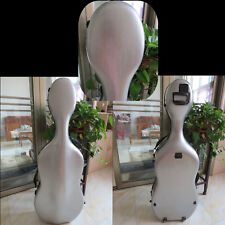 Gray color  carbon fiber composite material cello case 4/4 WITH Wheels