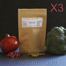 Pomi-T Organic Polyphenol Turmeric Pomegranate Green Tea High Strength 900mg X3