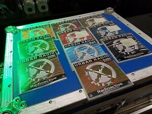 Lot of 10 various x-mix urban radio cd's 2002-03 like new!! never played!!