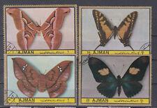 Ajman Briefmarken Schmetterlinge Mi. ? gestempelt