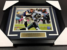 JASON WITTEN NO HELMET NO PROBLEM DALLAS COWBOYS 8X10 UNSIGNED Photo Framed