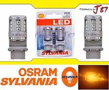 Sylvania Premium LED light Bulb 3157 4157 4114 Amber Orange DRL Daytime Upgrade