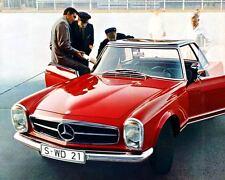 1967 Mercedes Benz 230SL Factory Photo ua4921-AA9RYB