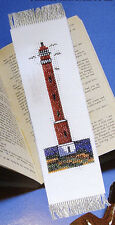 Counted cross-stitch bookmark kit – Lighthouse #2