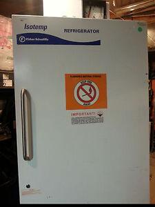 Fisher Scientific Isotemp recording  Refrigerator
