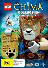 Lego Legends of Chima: Season 1 (Collection Volumes 1 - 4) - D.Attar NEW R4 DVD