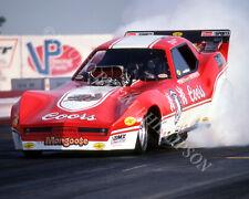 FUNNY CAR PHOTO TOM McEWEN DRAG RACING ORANGE COUNTY RACEWAY 1983 NHRA