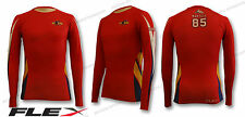 Custom Sublimated Breathable FLEX Max (Drifit) Long Sleeve Compression Shirt