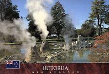 Carte postale: nouvelle-zélande: Malfroy source, rotorua
