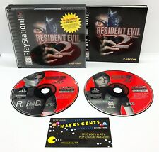Resident Evil 2 Black Label (Sony Playstation 1 PS1) Complete w/ Case & Manual