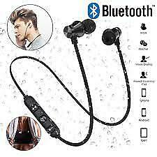 Magnetic Bluetooth Earphone For iPhone Samsung Xiaomi Huawei Hands free