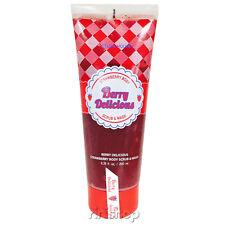 [ETUDE HOUSE] Berry Delicious Strawberry Body Scrub & Wash 200ml Rinishop