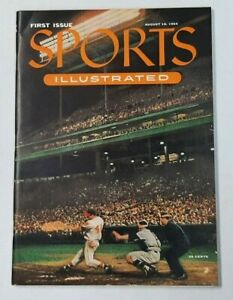 1st Issue Sports Illustrated First Issue 1954 Original w/ Cards Not a Reprint