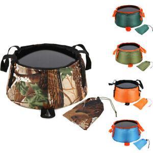 Foldable Basin Travel Camping Washbasin Bucket Fishing Washing Basket Foot Spa