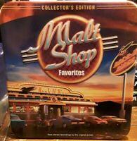 Malt Shop Favorites 70's Music 2 CD disc set Collectors Edition