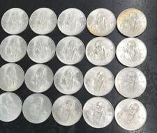 1979 Mexico 100 Cien Peso .720 Silver Plata Unc Roll Of 20 Coins