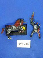 Warhammer Fantasy - Chaos - Classic Hero Mounted Damaged - Metal WF744