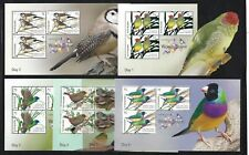 AUSTRALIA 2018 THAILAND SHOW 6 DAILY MINIATURE SHEETS UNMOUNTED MINT, MNH