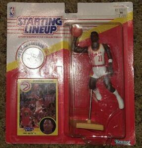1991 Dominique Wilkins Atlanta Hawks Starting Lineup figure sealed near mint