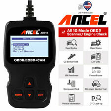 Car OBD2 Code Reader Erase Engine Light Error Diagnostic Tool Scanner AD310 US